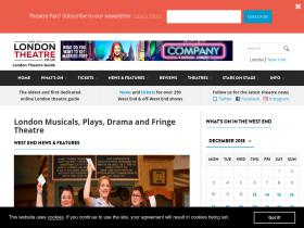 London Theatre + Coupon